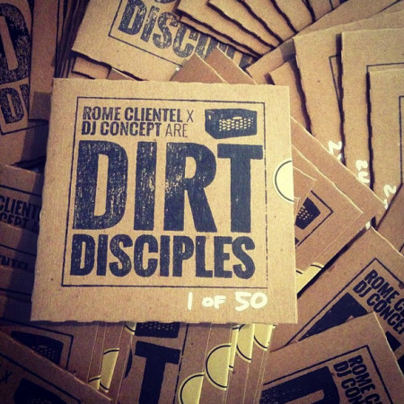 Dirt Disciples Limited Edition Hand Stamped CD